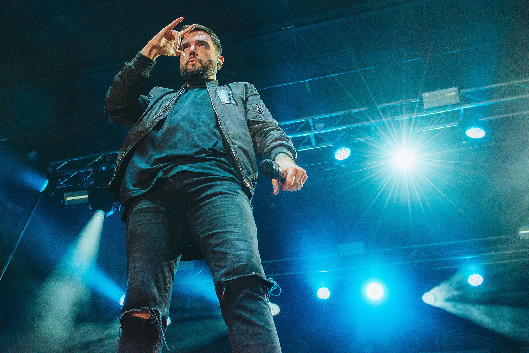 a day to remember ADTR Jeremy McKinnon lead singer band concert rock photo photography image