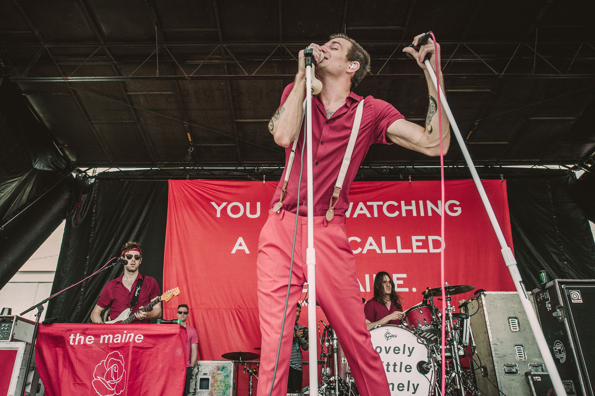 the maine john o'callaghan warped tour band concert rock photo photography image