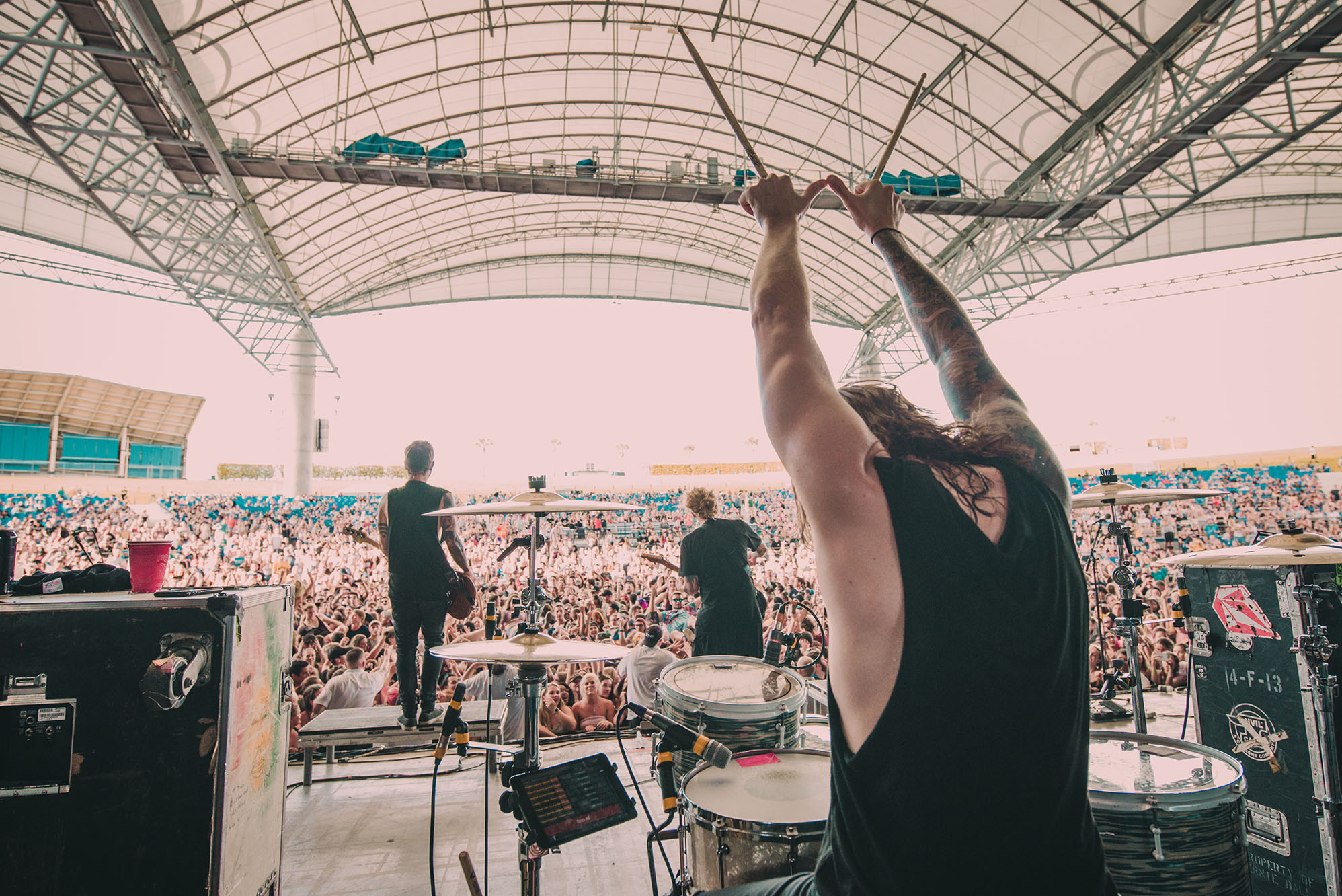 we the kings danny duncan warped tour drummer band concert rock photo photography image